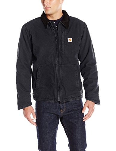 Carhartt Men's Full Swing Armstrong Jacket, Black, Large (Hood Carhartt compare prices)