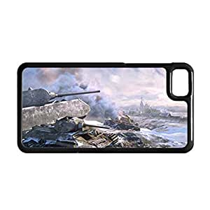 Desiger Phone Cases For Guys For Z10 Blackberry Printing The World Of Tank Choose Design 3