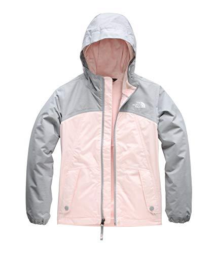 The North Face Girls' Warm Storm Jacket, Pink Salt, ()