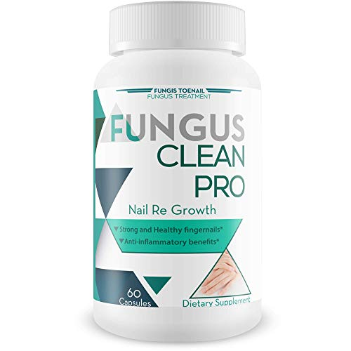 (Fungus Clean Pro - Nail Re Growth - Fungal Damage Recovery Blend - Strong and Healthy Nails - Anti Inflammatory Benefits - Restore Strong, Clear, and Thick Nails - Vitamin and Mineral Nail Blend)