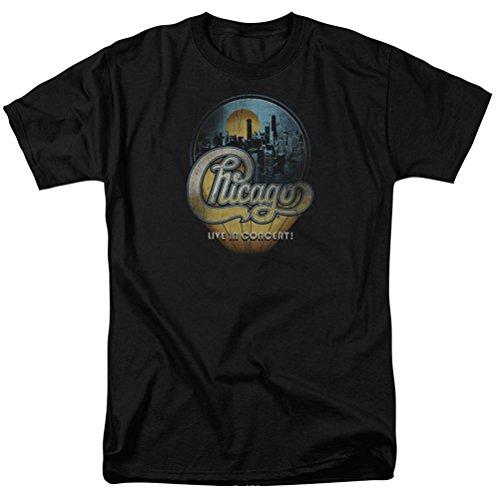 A&E Designs Chicago Live T-Shirt, Black, 2XL
