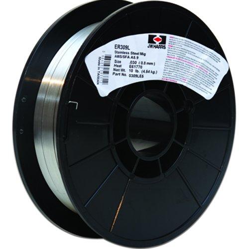 Harris 0309LF2 309L Welding Wire, Stainless Steel Spool, 0.035