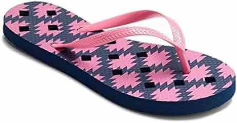 af1bb1d7e382 Simple By Design Women Antimicrobial Shower Flip Flop Shoes Water Sandals
