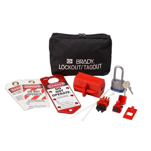 Brady 65291, Electrical Lockout Pouch Kit, 2 Kits