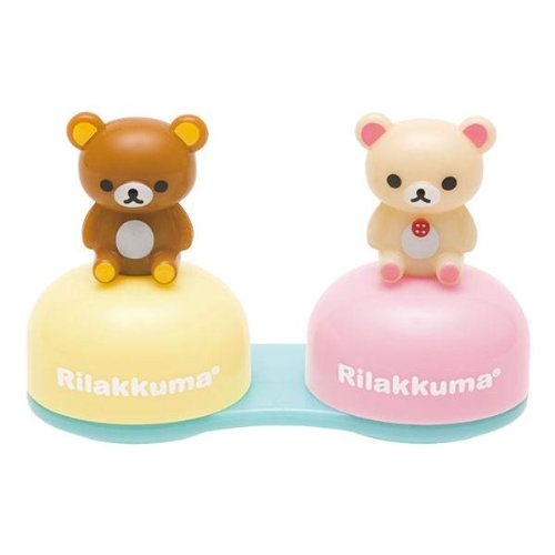San-x Rilakkuma Contact Lens Case