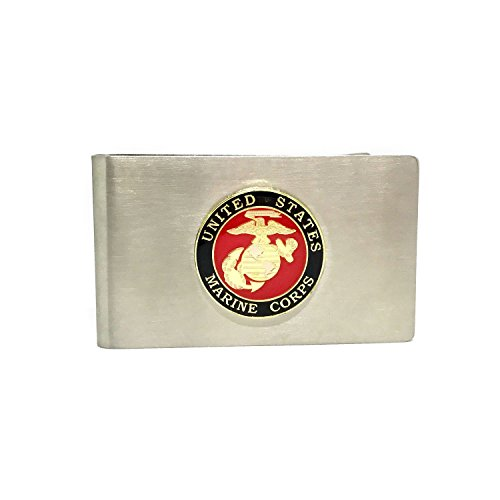 US Marines Money Clip - Cigar Cutters by Jim Money Clip
