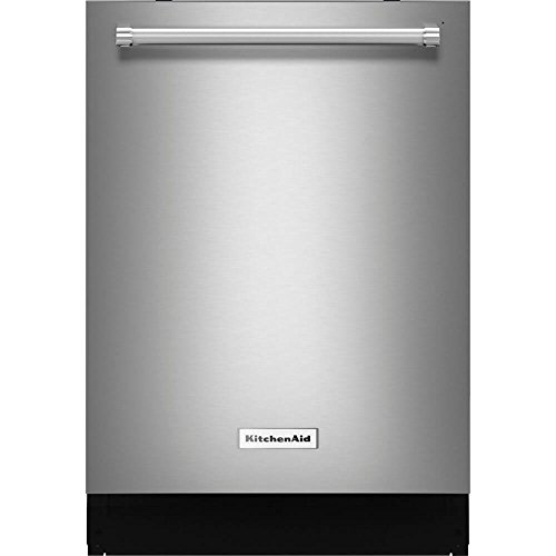 KitchenAid Top Control Built-In Tall Tub Dishwasher in PrintShield Stainless with Third Level Rack, 46 dBA