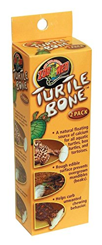 Zoo Med Laboratories SZMTB1 Turtle Bone, 2 (Zoo Med Aquatic Turtle Food)