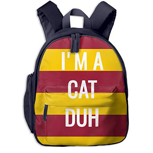 I'm A Cat Duh Kids 3D Printed Schoolbags Portable Bookbags Backpacks for $<!--$33.22-->