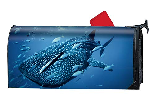 XPNiao Magnetic Garden Yard Mailbox Cover Whale Shark Diving Tourism Travel by XPNiao