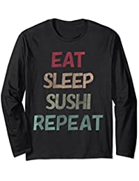Eat Sleep Sushi Repeat Love Long Sleeve Shirt