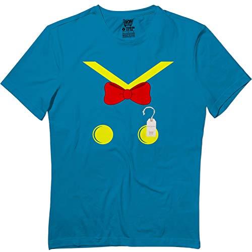 wintertee Donald-Halloween Outfit Pajamas Apparel Costume Matching T Shirt Sapphire
