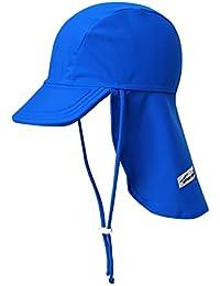 Infant & Kids Unisex Boys & Girls Sun Protection Sporty Flap Swim hat UV Flap Cap