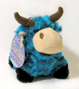 Booda Corporation (Aspen) Booda Medium Curlie Blue Bell by Aspen/Booda Pet Products