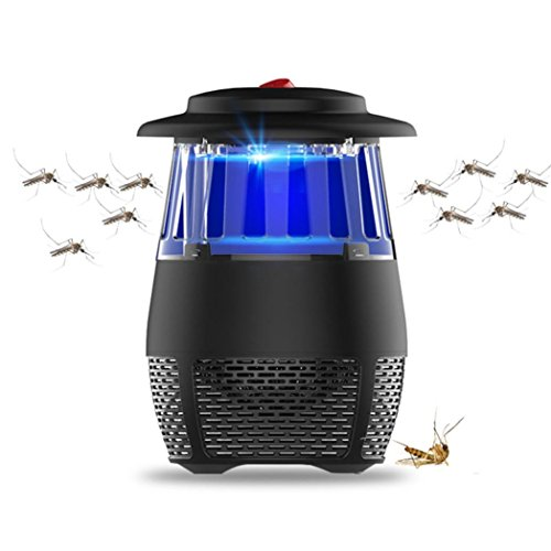 Ourhomer Electric Fly Bug Zapper Mosquito Insect Killer LED Light Trap Lamp Pest Control Mosquito Dunks Mouse Repellent (Dunk Light)