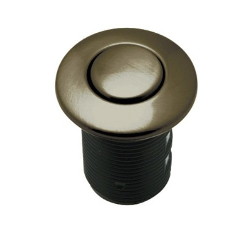 Rohl AS425EB Air Activated Switch Button Only for Waste Disposal Including Escutcheon Base and Fastening Nut, English Bronze