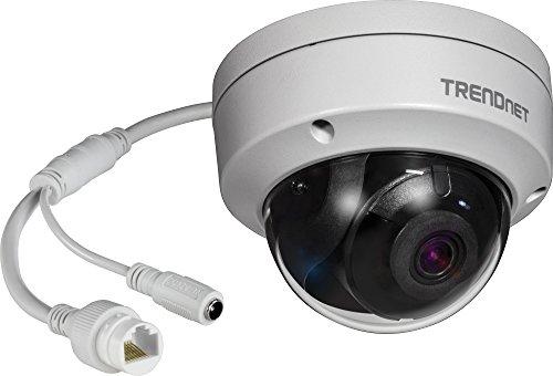 TRENDnet Indoor/ Outdoor 8MP 4K H.265 WDR Poe Dome Network Camera
