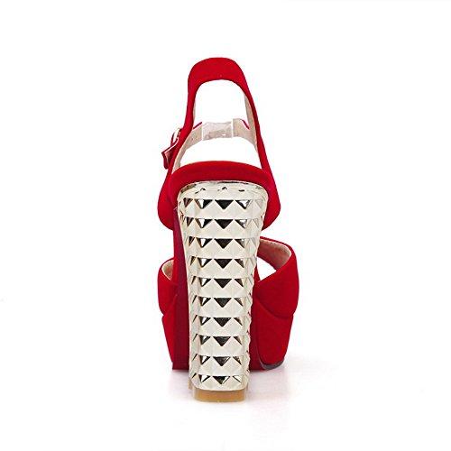 Femme 35 Sandales Slc01335 Adeesu Rouge Pour Eu Pq0A7wT