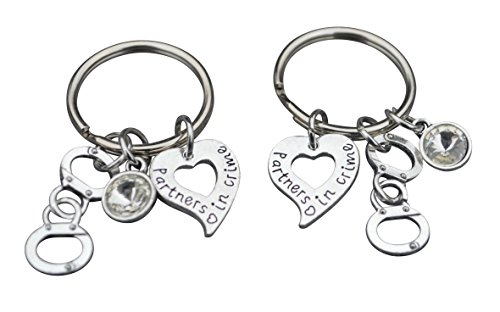 Keychains Friends Jewelry Handcuff Keychains Partner product image