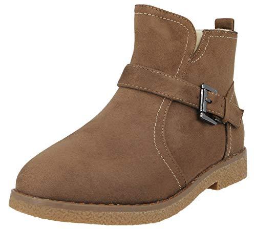 Fille Garçon Femme Boots Footwear Chelsea Foster Taupe qg4Ft7X