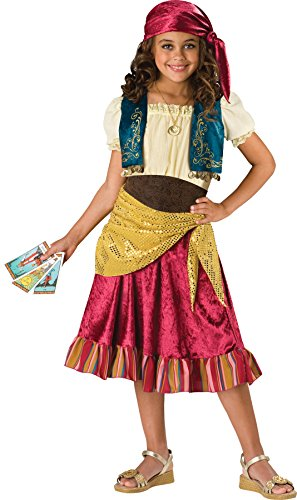 Girls Gypsy 2B Kids Child Fancy Dress Party Halloween Costume, Child 12