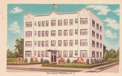 E1971 NJ, Morristown Hotel Revere Postcard (Revere Hotel compare prices)