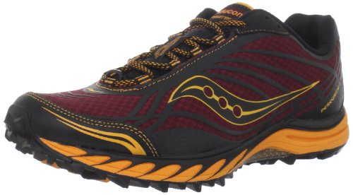 Saucony Men's Progrid Peregrine 2 Trail Running Shoe,Red/...