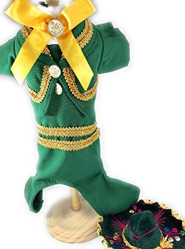 Mariachi dog Costume size M -