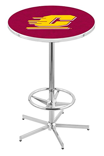 Holland Bar Stool L216C Central Michigan University Officially Licensed Pub Table, 28