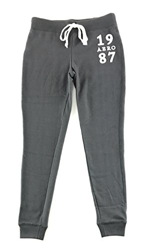 Aeropostale Womens Aero York Jogger Sweatpants Dark Gray XX-Large