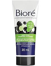 Bioré® Deep Pore Charcoal Cleanser, for Oily Skin, 30 mL