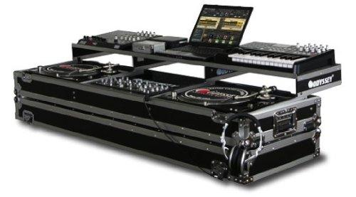 (Odyssey FZGSPDJ19W Remixer Glide Turntable Coffi Reguar 19 Inch DJ Mixer Coffin )