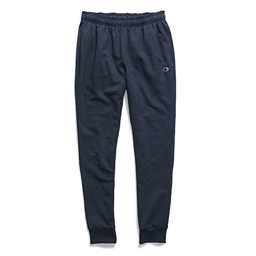 Champion Men's Powerblend Retro Fleece Jogger Pant, Navy Heather, X-Large -