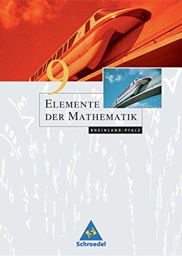 Elemente der Mathematik SI - Ausgabe 2005 für Rheinland-Pfalz: Schülerband 9
