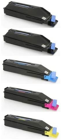 TK-8552B1CMY SuppliesMAX Compatible Replacement for Kyocera Mita TASKalfa 400//500//552ci Toner Cartridge Combo Pack 2-BK//1-C//M//Y