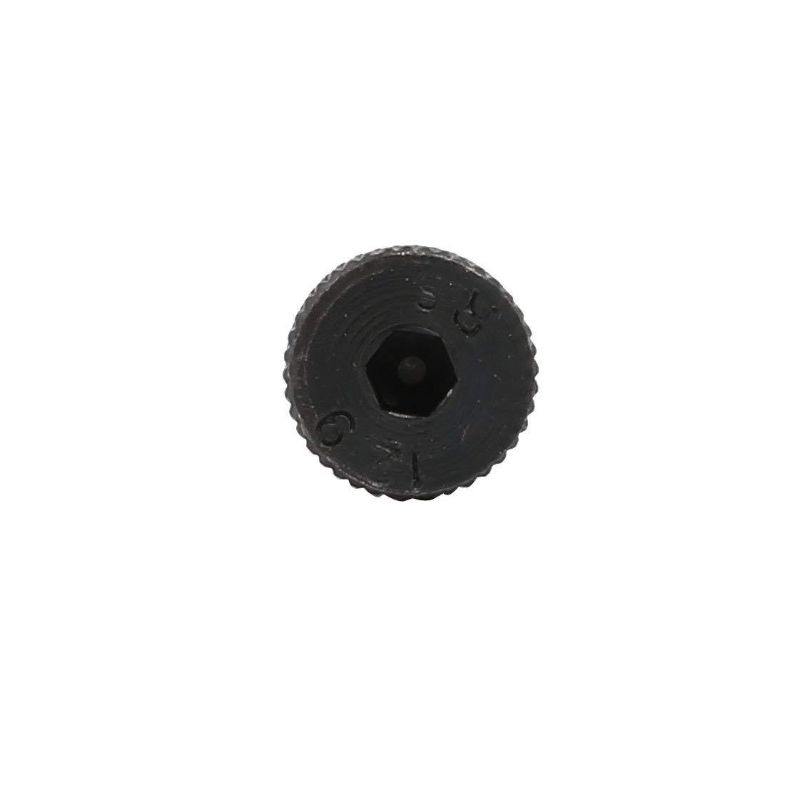 10pcs 40Cr Steel Shoulder Bolt 8 mm Shoulder Diameter 60 mm Shoulder Length Thread M6x12mm