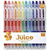 Pilot Juice Gel Ink Ballpoint Pen, 0.38 mm, 12 Color Set (LJU-120UF-12C)