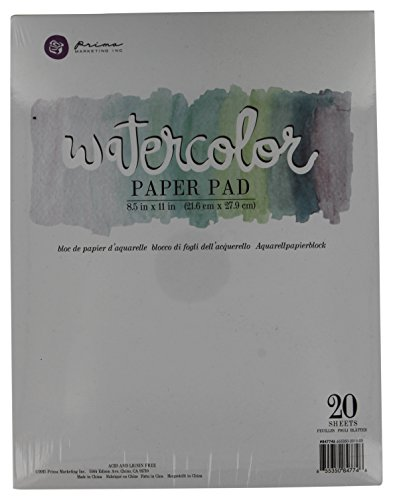 Prima Marketing Watercolor Paper PAD6