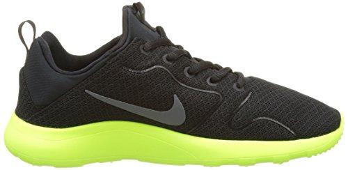 Nike 844676-004, Zapatillas de Deporte para Niños Negro (Black / Dark Grey / Volt)
