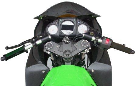 Kawasaki 2013 Ninja 300R 37mm Woodcraft Racing 3 Piece Split Clip-on Handlebars
