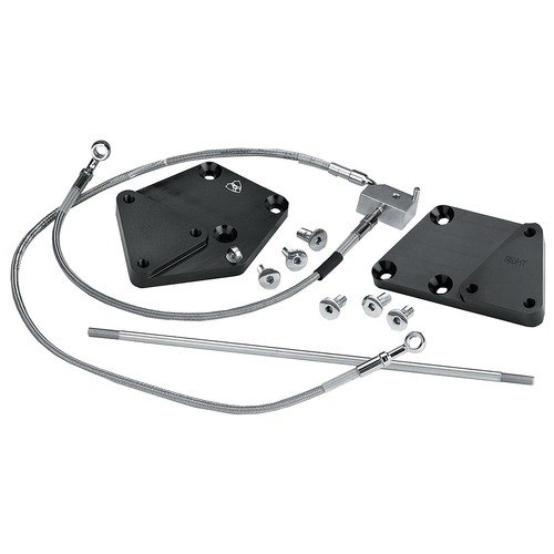 Arlen Ness 3 in. Forward Control Extension Kit for Harley Davidson 2000-06 Soft - One Size -