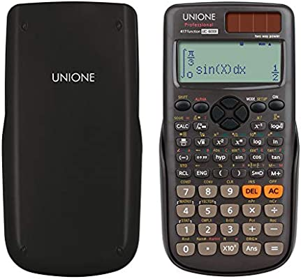 UNIONE Scientific Calculator 417 Functions Marix Vector Calculations  Calculator Office Middle High School Student SAT/AP Test Calculate UC-600E