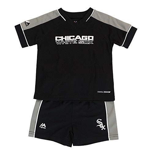 - Outerstuff Chicago White Sox MLB Cool Base T-Shirt & Shorts Set Infant (12M-24M)