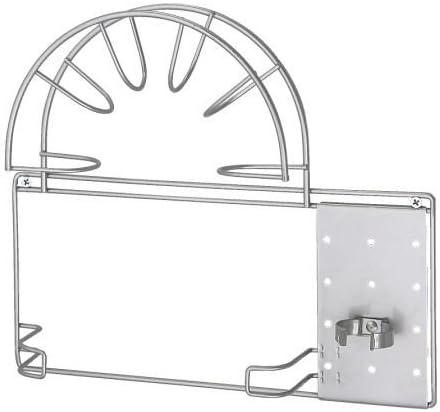 colroe IKEA VARIERA Supporto per tubo dellaspirapolvere Argento