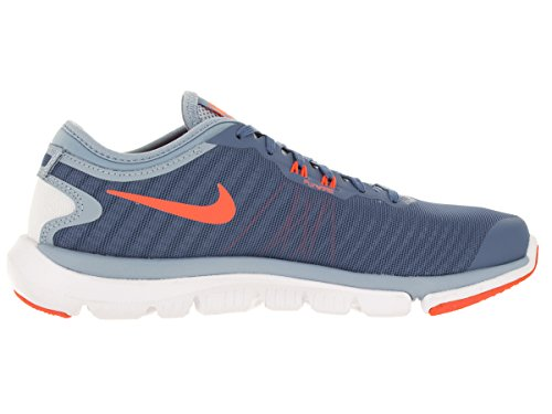 Nike Wmns Flex Supreme Tr 4, Zapatillas de Gimnasia para Mujer Azul (Ocn Fog / Brght Mng-Bl Gry-Prps)