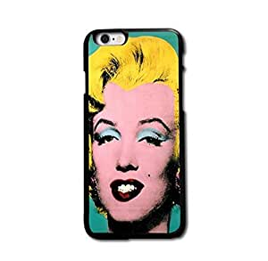 "Tomhousomick Custom Design Women's Fashion Cases Sexy Star Marilyn Monroe Style Case for iphone 5 5s "" Back Cover #43"