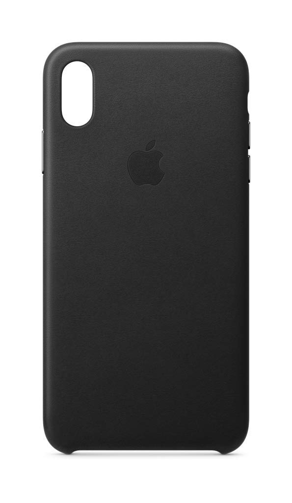 Apple Leather Case (for iPhone Xs Max) - Black by Apple
