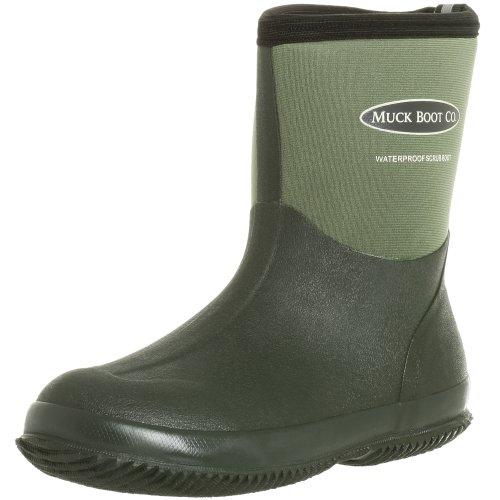 The Original MuckBoots Adult Scrub Boot,Garden Green,8 M US