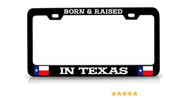 Auto Decorative Frames Black License Plate Frame Aluminum Metal Car Tag Frame Humor Funny License Plate Cover for US Vehicles 2 Holes and Screws