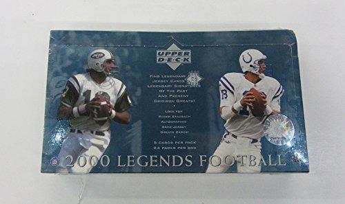 2000 Upper Deck Legends Football Box (2000 Upper Deck Legends Card)